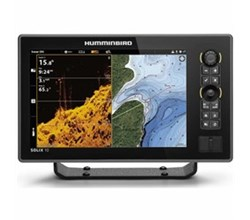 Center Console Boat humminbird solix 10 chirp mega di fishfinder/gps g2