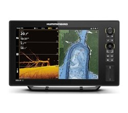Center Console Boat humminbird solix 12 g2