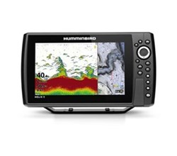 Center Console Boat humminbird helix 9 g3n