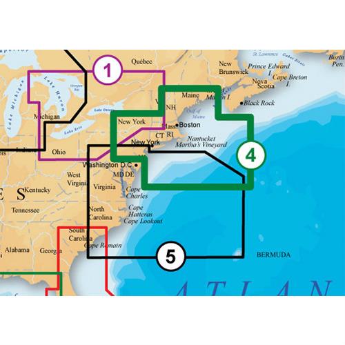 Navionics Us Mid Atlantic Canyons Map