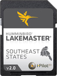 """LakeMaster Chart - SouthEast States Brand New, The Humminbird LakeMaster SouthEast States Edition, Version 2 Map Card features many FRESHWATER lakes in Florida, Georgia, Alabama, Mississippi, Tennessee, and Kentucky on one SD map card"