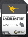 Humminbird 600025-2 Lakemaster Chart Wisconsin 2014 Version