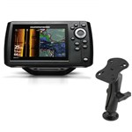 Humminbird Helix 5 G2 CHIRP SI-GPS Combo with Electronic Mount