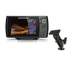 Humminbird Helix 7 Fishfinders humminbird helix 7 chirp mega di g3 with ram mounts surface mount